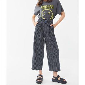 UO Mack Pleated High Rise Pants